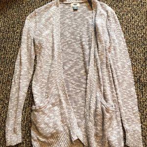 Old Navy Grey Marled Knit Cardigan Size XS